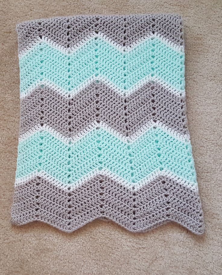 Image result for aqua grey and yellow crochet blanket | Crochet ...