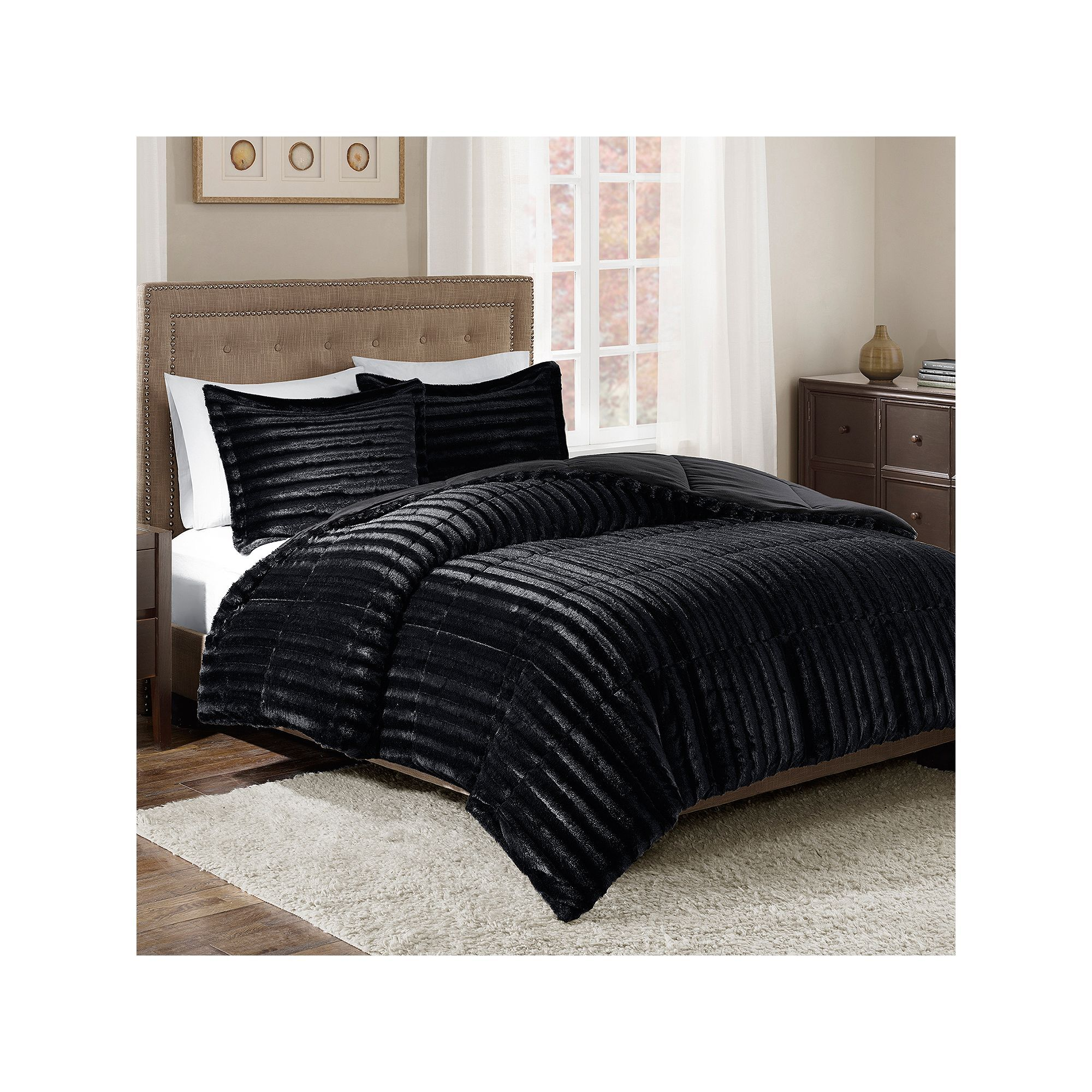 bedspreads introducing blue accents bedspread bed by fur rave bedding luxurious faux