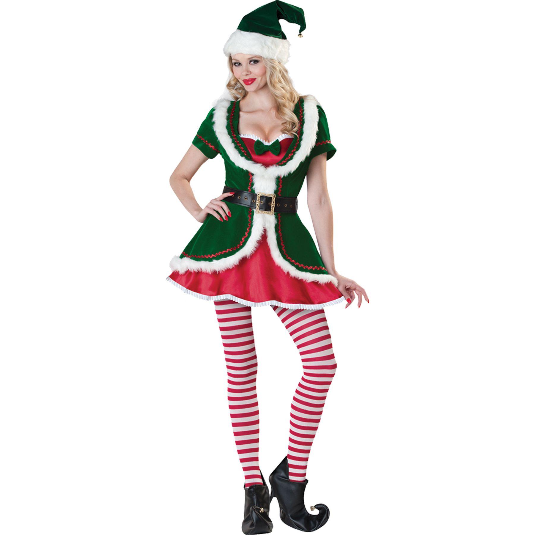 Women S Holiday Honey Costume Size Medium Multi Christmas Elf Costume Costumes For Women Honey Costume