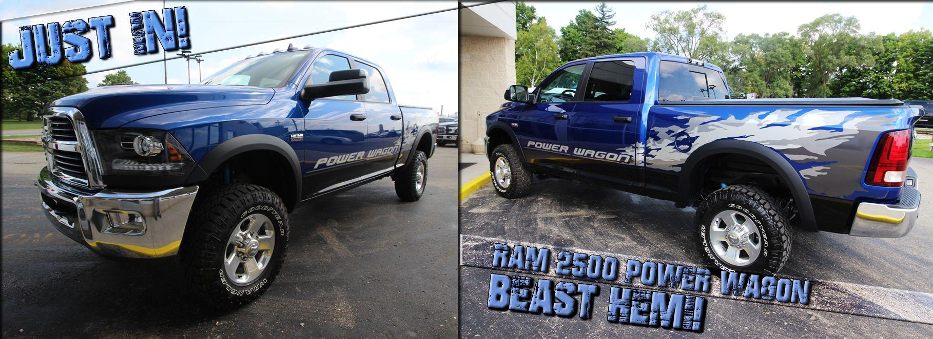 We've got a Beast of a Ram 2500 here! Ram trucks, Ram