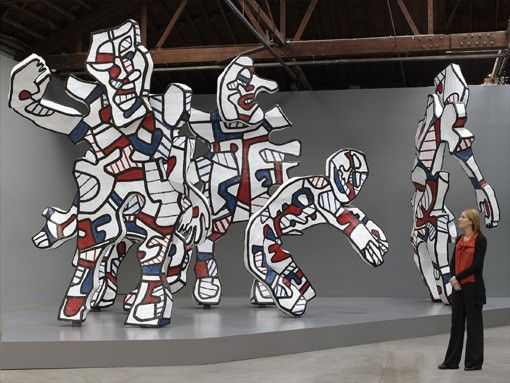 A Walk in the Forest - Jean Dubuffet | Birth of Art | Pinterest ...