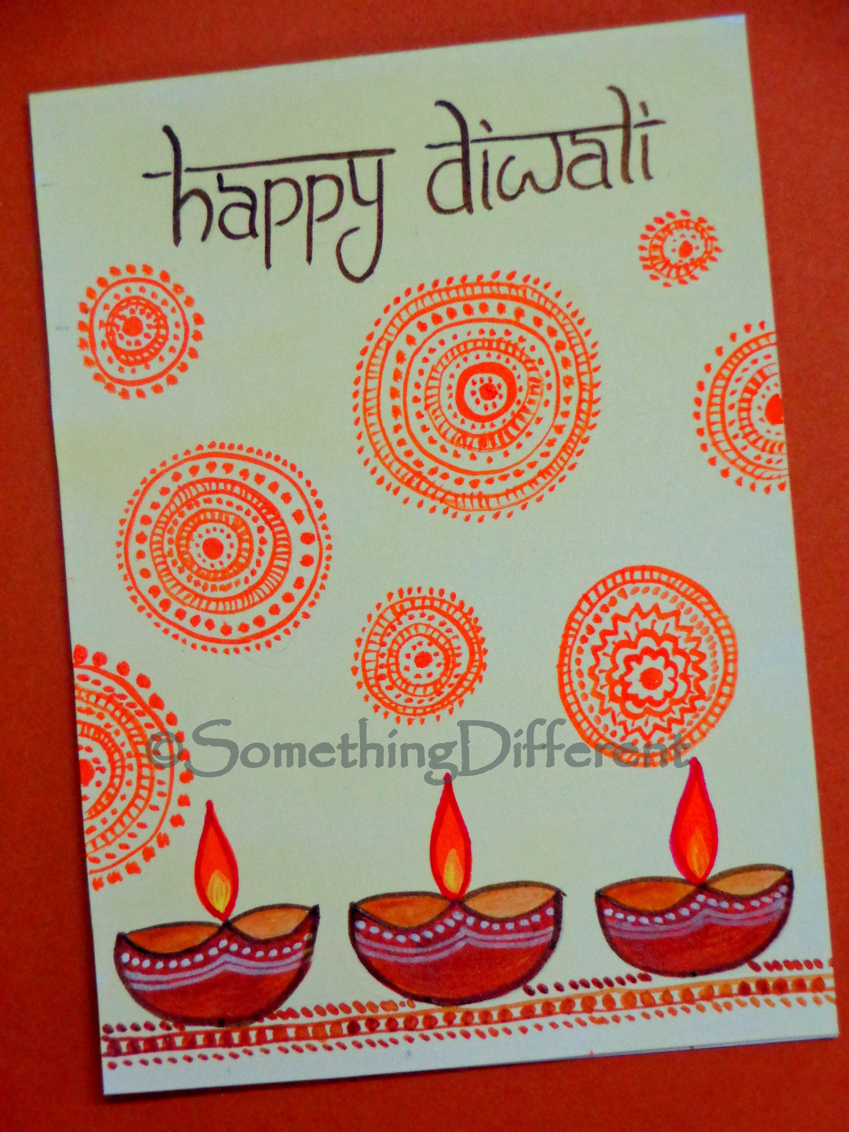 Diwali Greeting Card Diwali Greeting Cards Pinterest Diwali