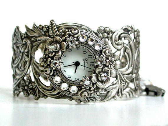 Image detail for -... Watch - Vintage style - Victorian Gothic Steampunk Watch - Victorian