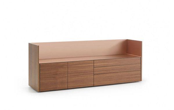Stockholm Sideboards That Combine Wood And Aluminum Aluminium