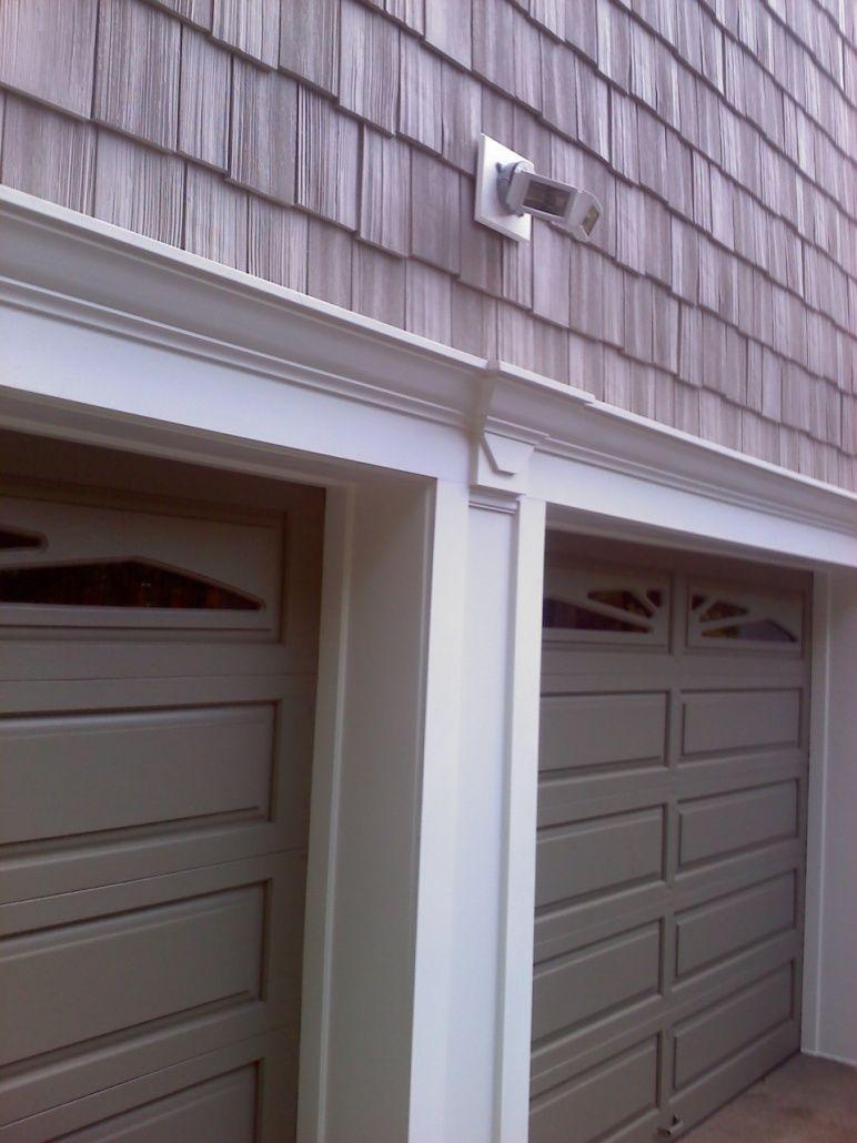 Garage Door Vinyl Trim Kit Garage Doors Garage Door Trim Garage Door Decor