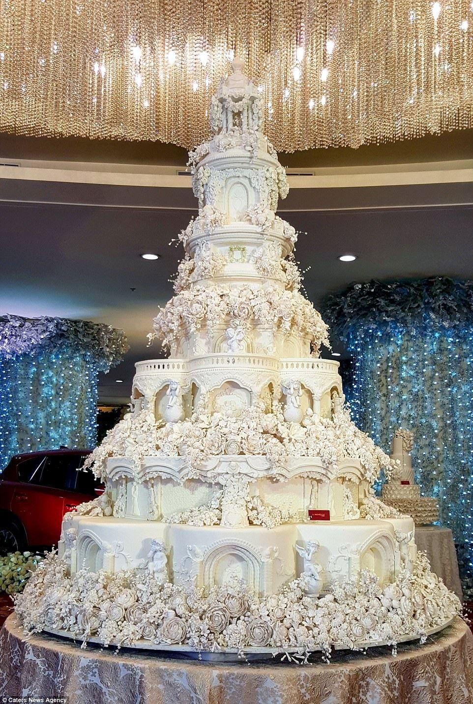 Pinterest cutipieanu Extravagant wedding cakes, Big