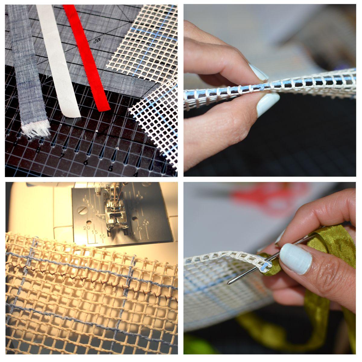 Top 10 Locker Hooking Tips Cutting Strips Preparing Canvas Framing Edges