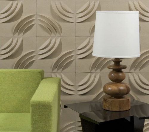 Tiles For Wall Decor Amazing Ripple 3D Wall Tiles  Oo8 Office  Pinterest  3D Wall Decor And Review