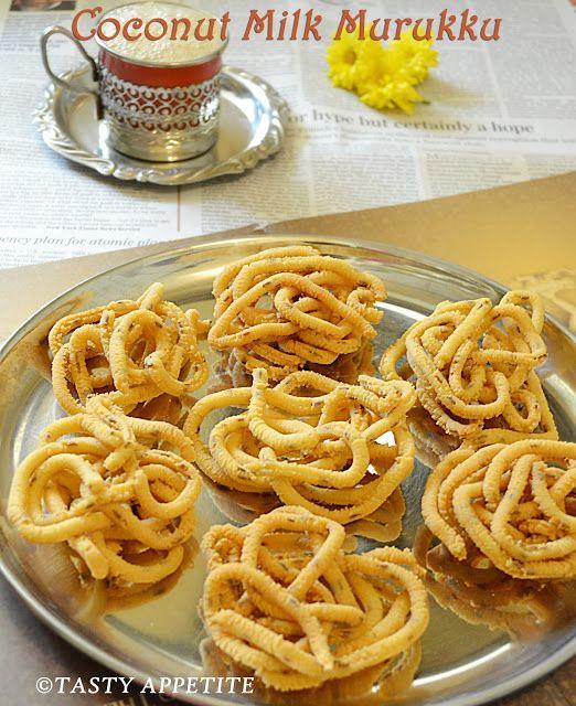 Tasty Appetite How to make Coconut Milk Murukku / Thengai