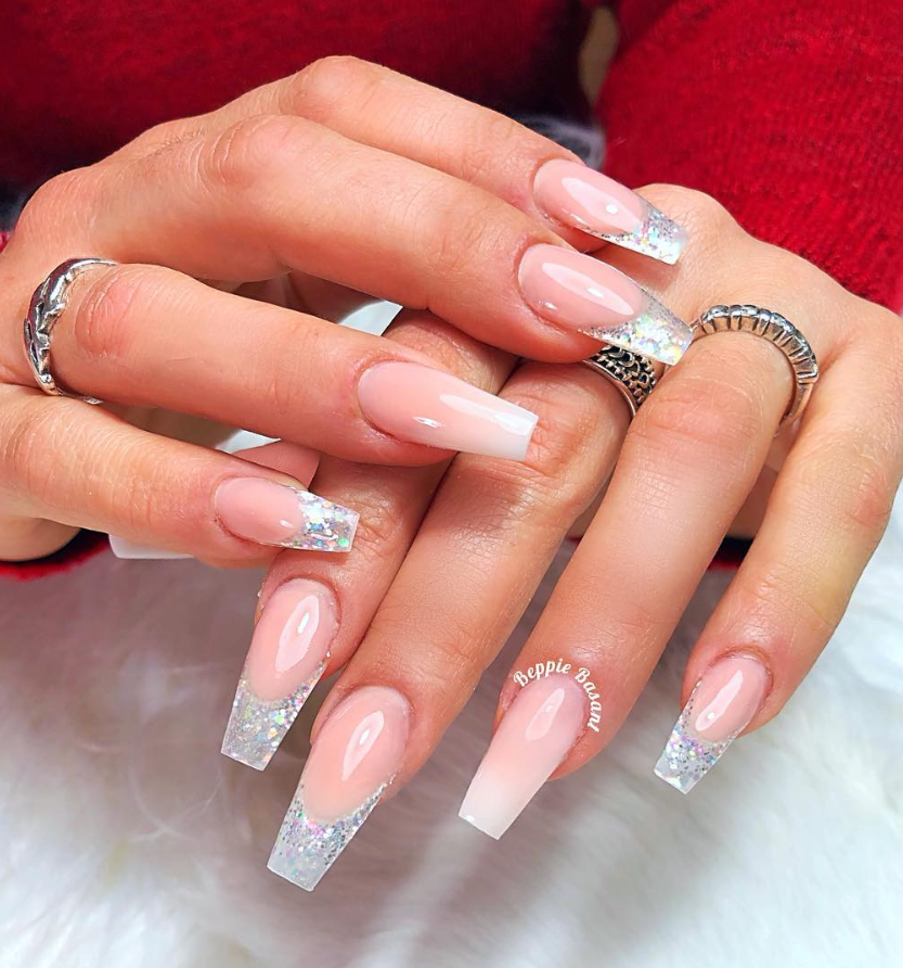 53 Chic Natural Gel Nails Design Ideas For Coffin Nails Natural Gel Nails Gel Nail Designs Classy Gel Nails