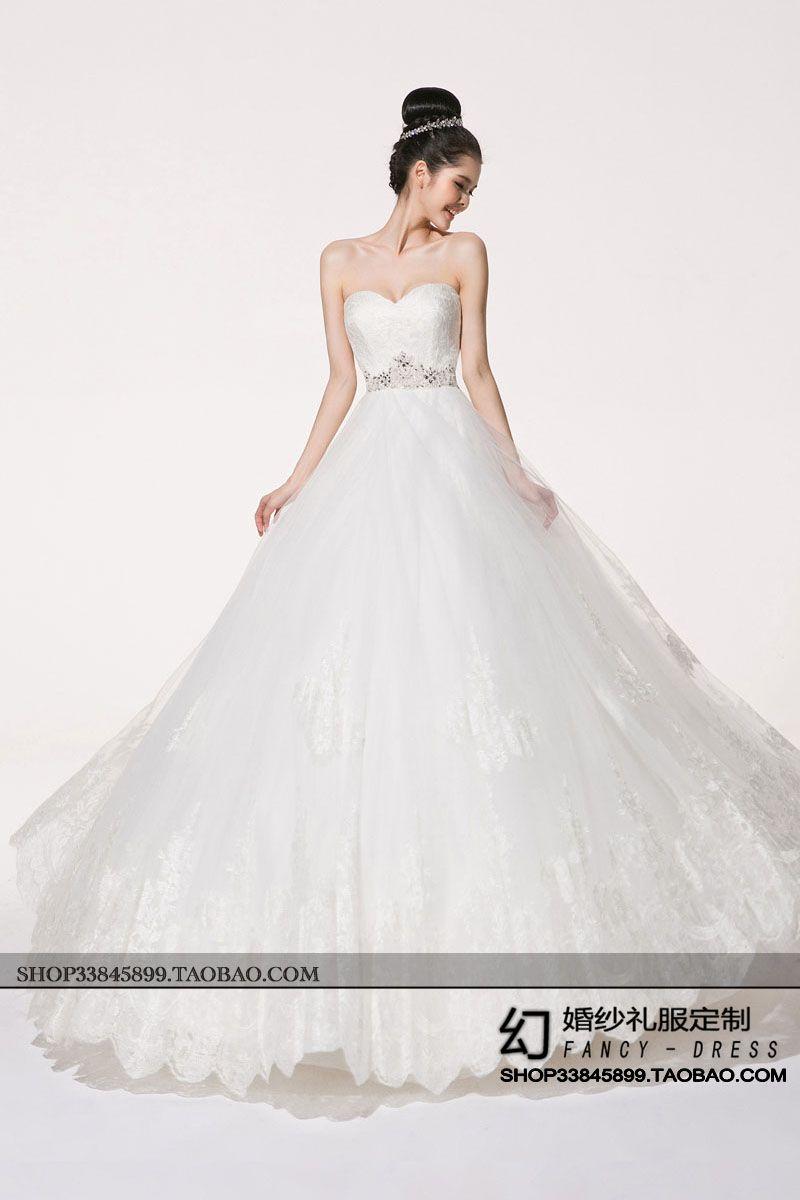 Magic Bra wedding dress -2014 new European version of the flash ...