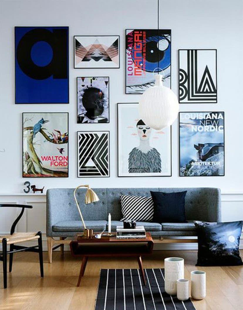Bilder aufhängen: Tipps und Inspirationen: So hängen Sie Ihre