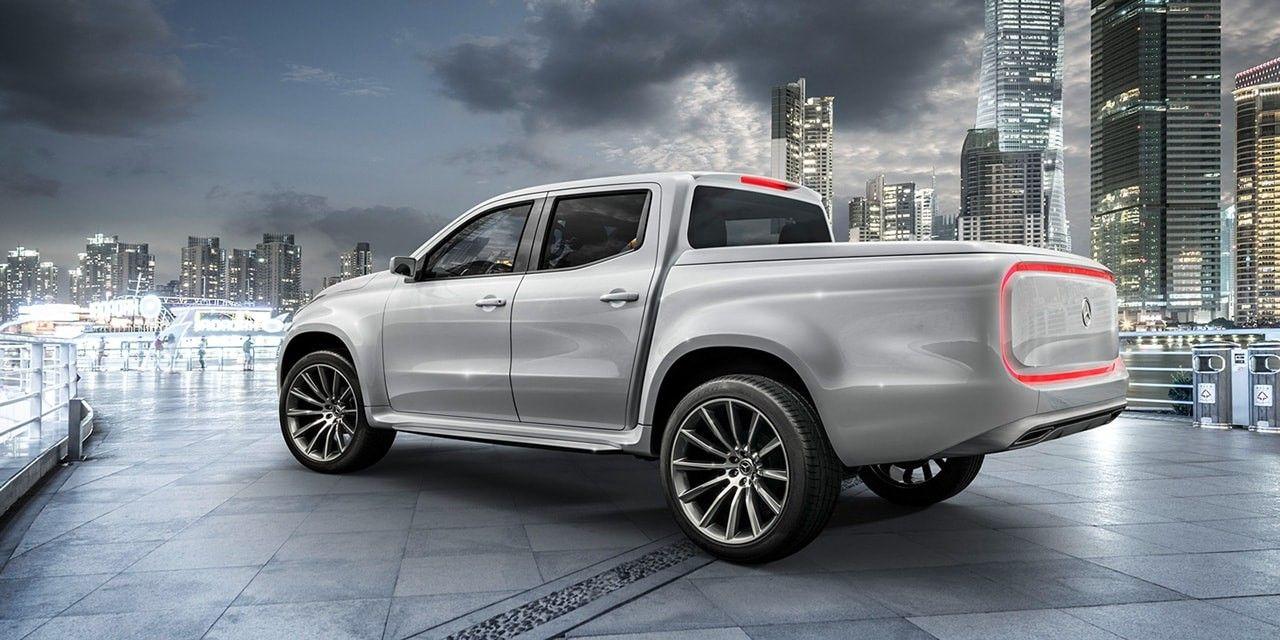 mercedes benz pickup truck 2017 automundo 5 motores y turismo pinterest mercedes benz. Black Bedroom Furniture Sets. Home Design Ideas