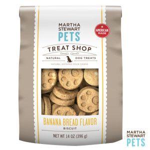 Martha Stewart Pets® Treat Shop Natural Banana Bread Dog Treat | Biscuits & Bakery | PetSmart