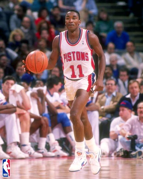 Point Guard - Isiah Thomas - A two time NBA champion leading the Pistons 86b3b0a4d