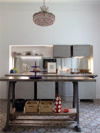 Brocante House Restoration For A Collector Prato Italy 2009 Sabrina Bignami Kitchen Design Style Hou Stylish Room Interior Interior Design Kitchen
