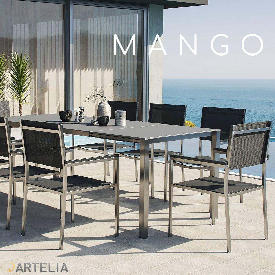 Artelia Mango Esstisch Set Esstisch Sitzgruppe Tisch