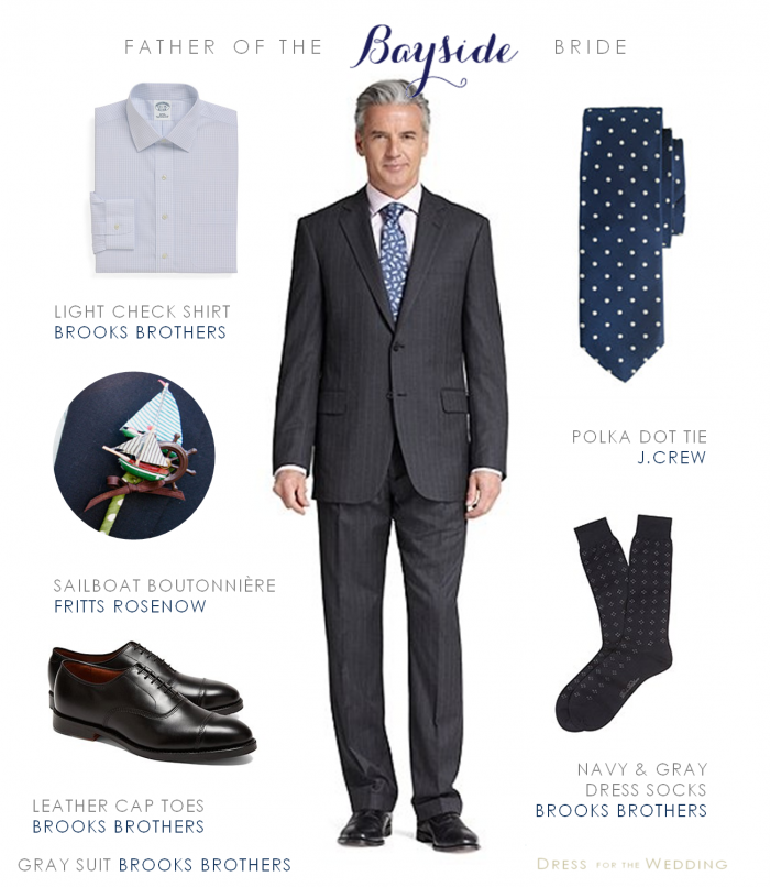 Gray Suit For Groom Or Father Of The Bride