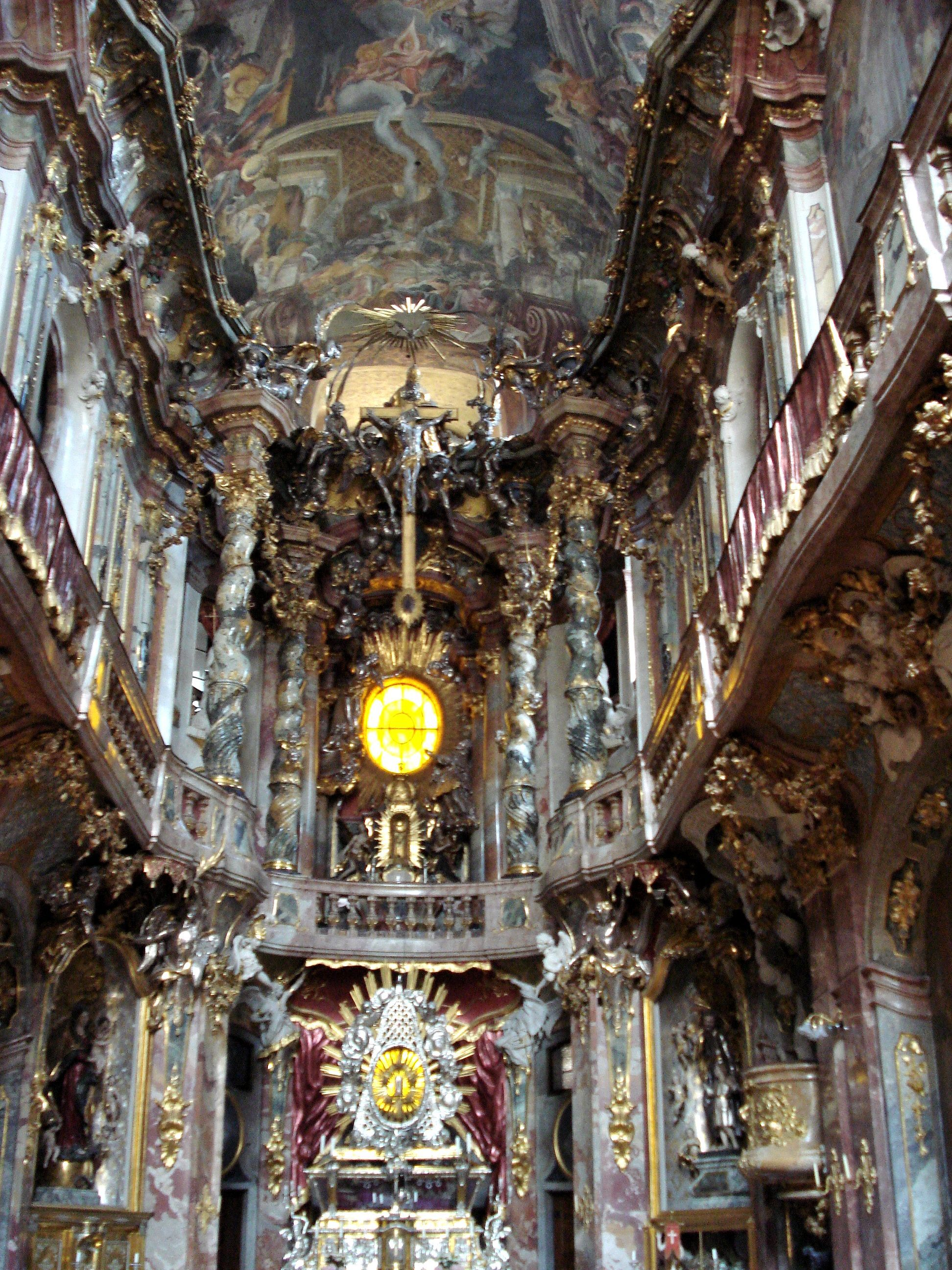baroque architecture germany asamkirche or st john