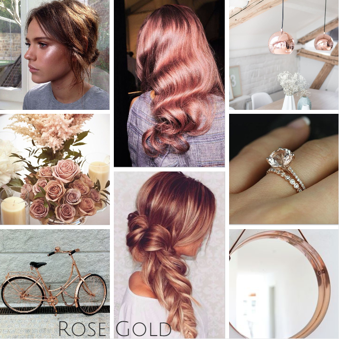 Recreate the look with Leyton House Professional #rosegold ...