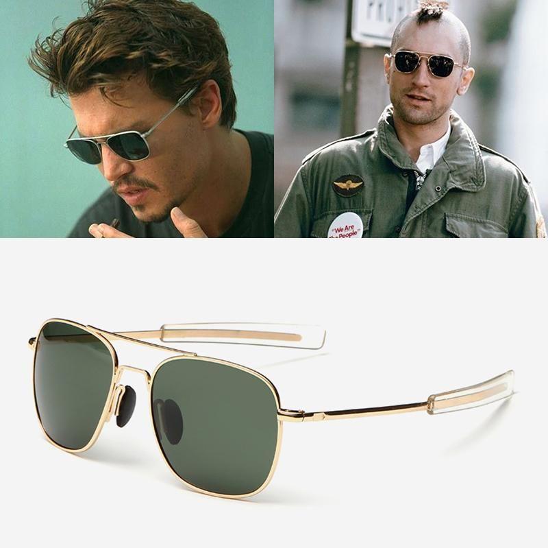 JackJad Fashion Men Army MILITARY Aviator Style Polarized Sunglasses  Driving Brand Design Sun Glasses Oculos De Sol Masculino 8a1bac6d086