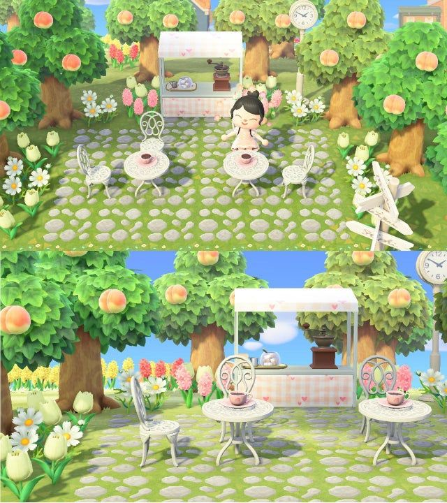 Check Out My Cute Little Outdoor Cafe!