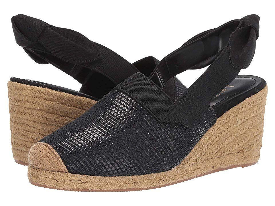 073cda7d527 LAUREN Ralph Lauren Helma Women's Shoes Black Stripe Texture Faux ...