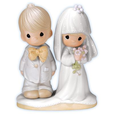 The Lord Bless You And Keep You Our Wedding Cake Topper 30 Years Ago 3 Precious Moments Precious Moments Figurines Precious Moments Wedding