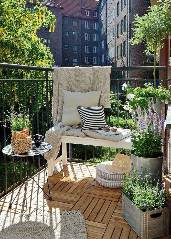 petit balcon nos idees pour l amenager avec style