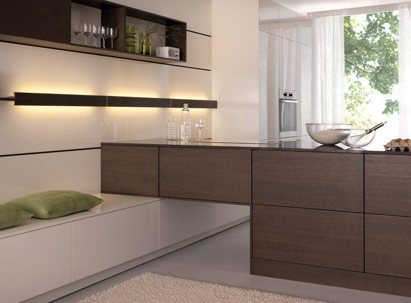 Modern Leicht Kitchen Cabinets Luna Topos Fine German Design Westchester
