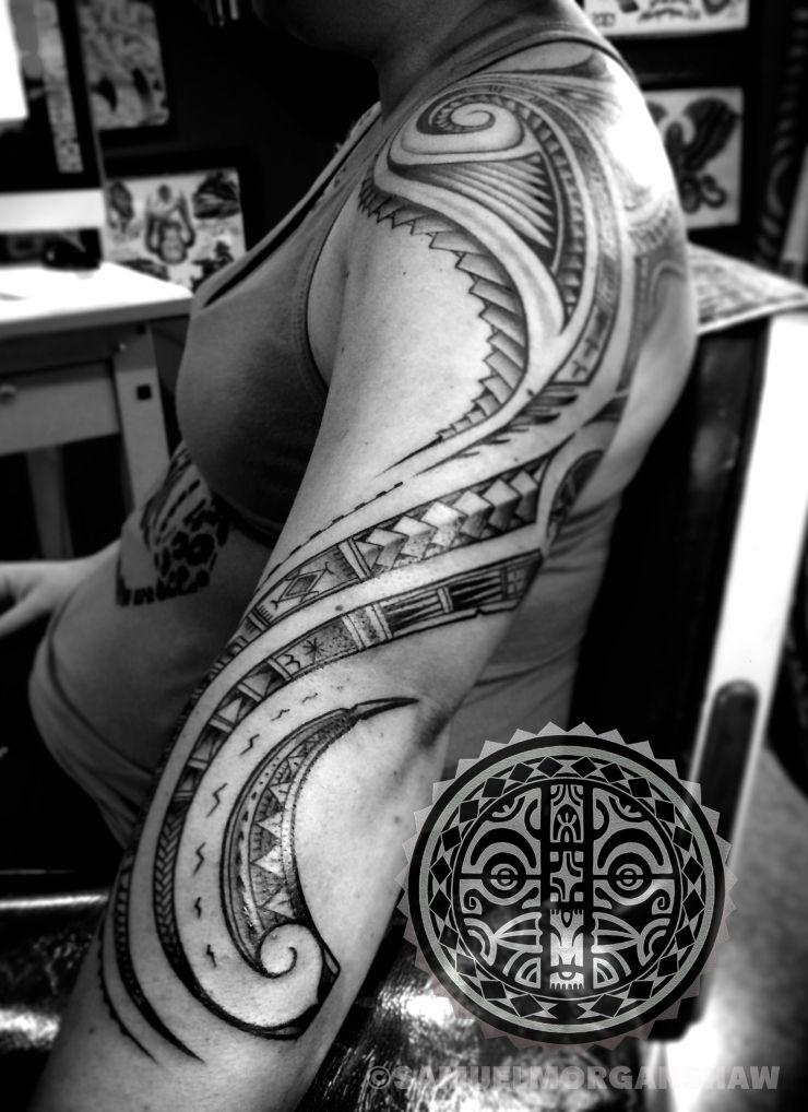 Womens' Polynesian Tattoos