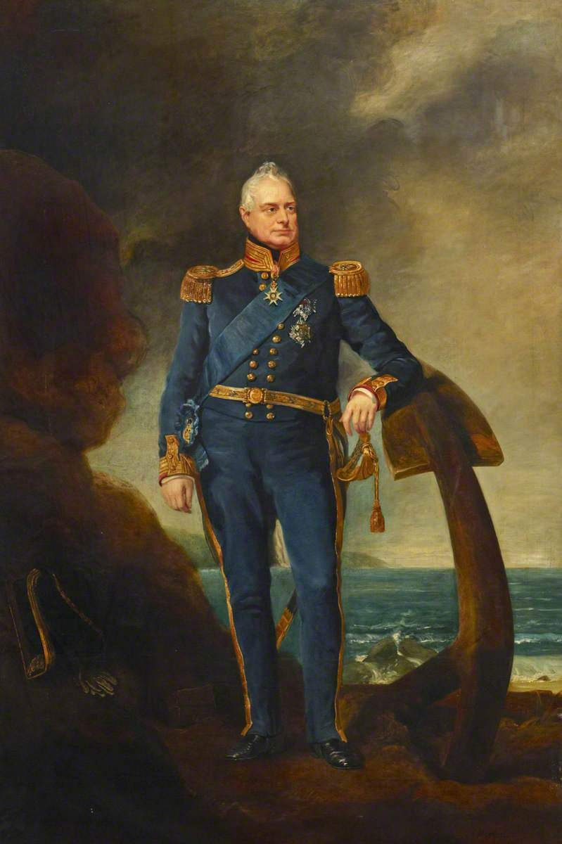 William IV (1765–1837), in Admiral of the Fleet's Full Dress Uniform by  Andrew Morton (1802-1845… | Admiral of the fleet, King william iv, British  history