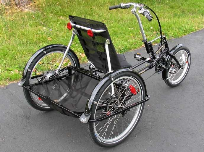 The Roadrunner Large Capacity Recumbent Trike With Images