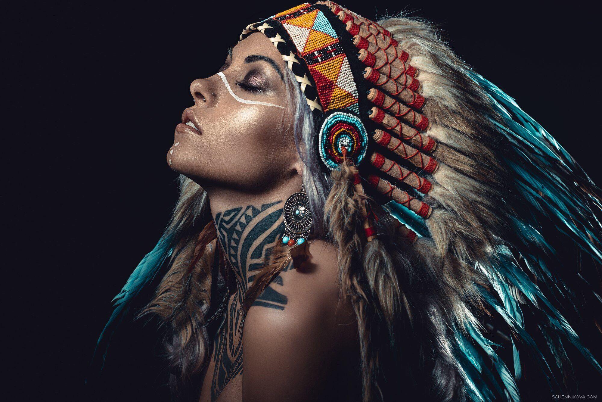 Индеец фото в профиль