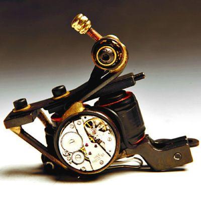 New Handmade Cast-Iron Tattoo Machine Guns Lou\'s Custom Supply ...