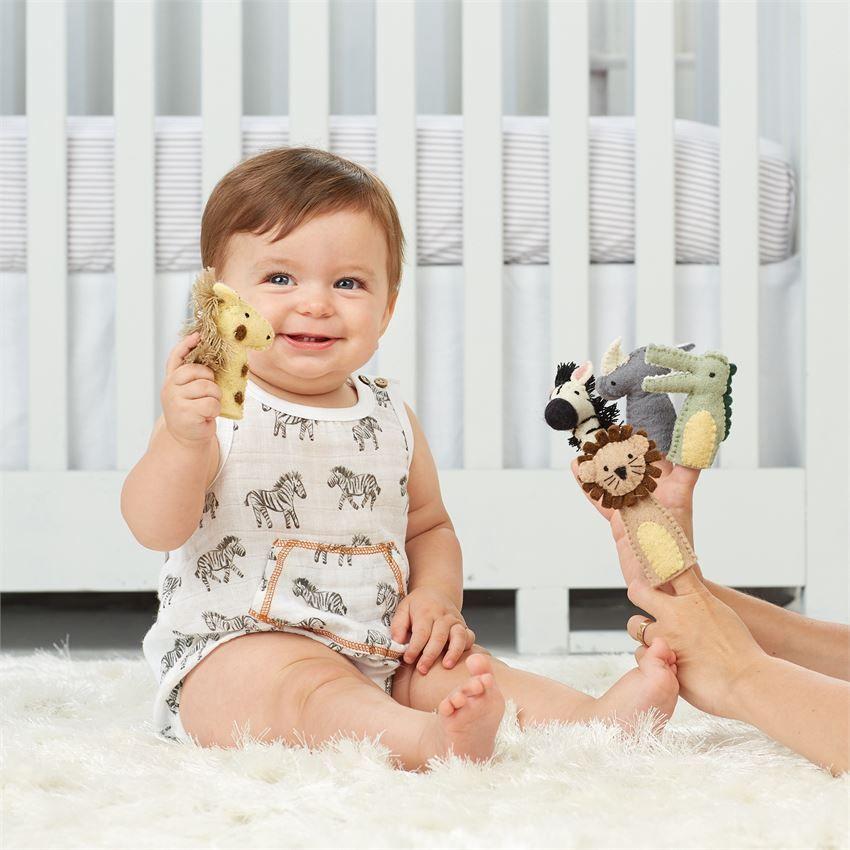 Wool Safari Animal Finger Puppet In 2020 Business For