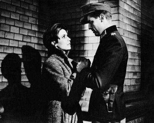 """Sonja Ziemann and Joachim Hansen in """"Hunde, wollt ihr ewig leben?"""" (1959)"""