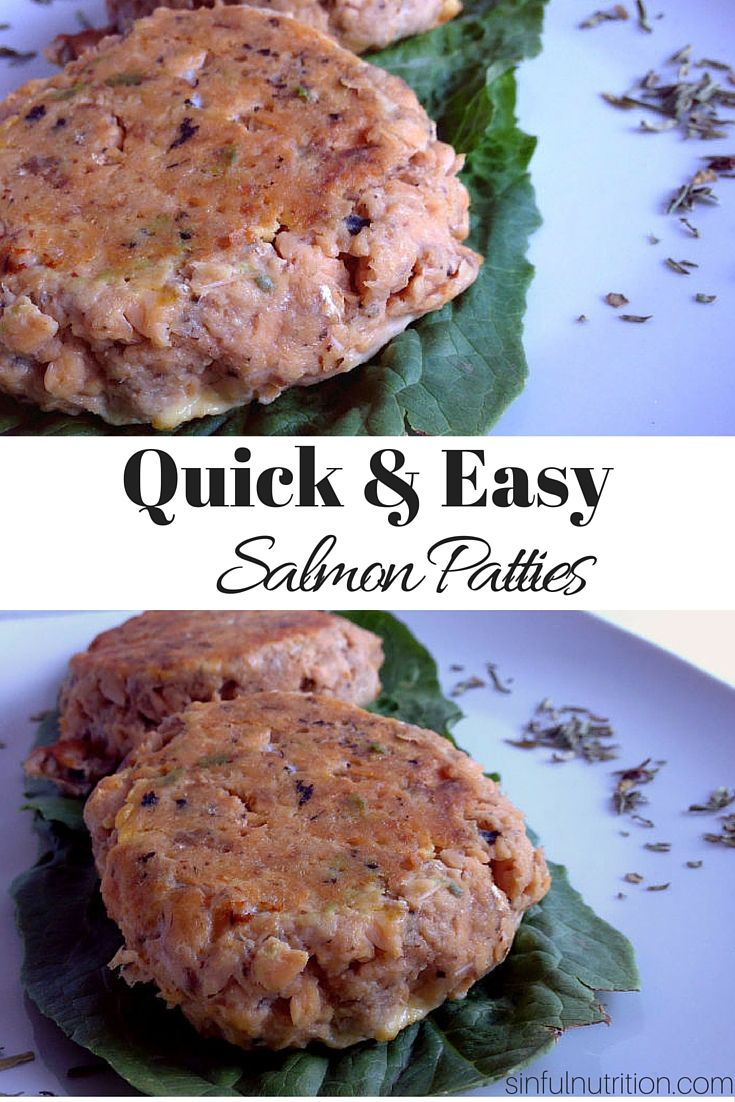 2 Ingredient Salmon Burgers Sinful Nutrition Recipe Salmon Patties Recipe Recipes Easy Salmon