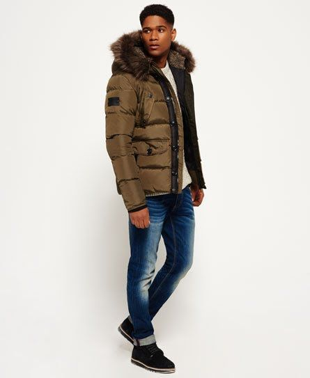 Superdry Chinook Parka Jacket Green | Parka outfit, Jackets