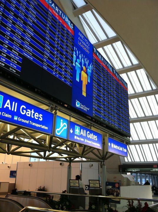 Lambert St Louis International Airport Stl International