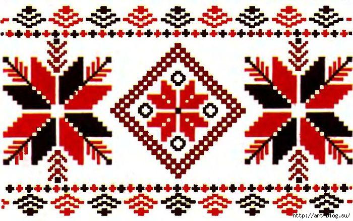 Схемы белорусских узоров и орнаментов