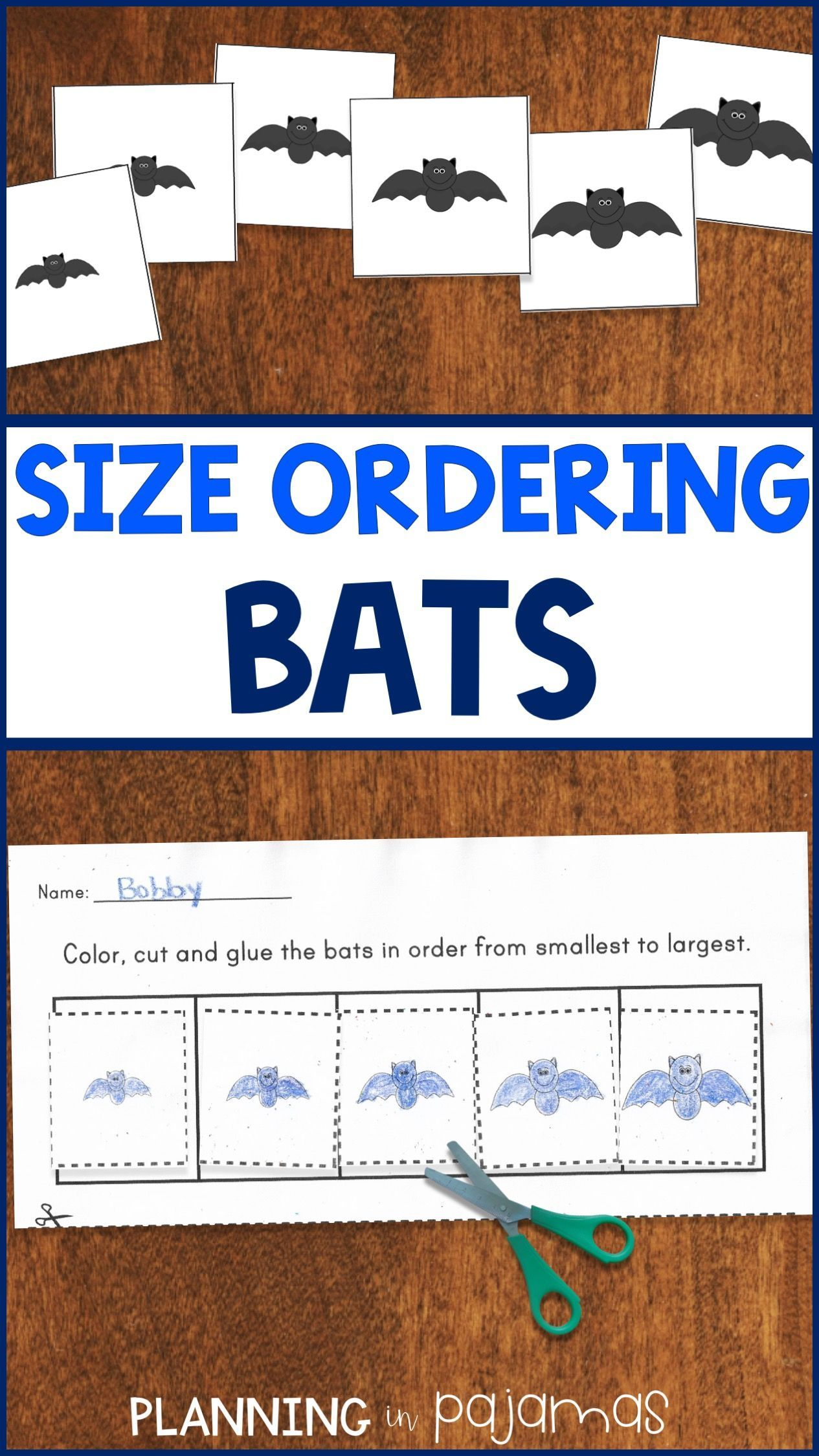 Bats Size Ordering From Smallest To Largest