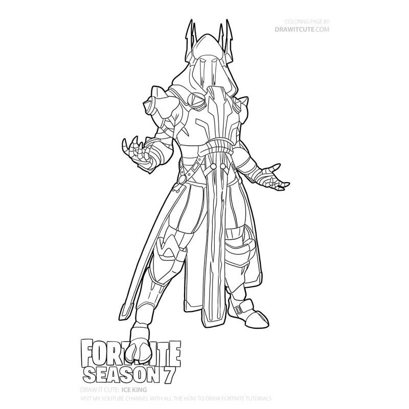 Coloring Pages Fortnite Season 7