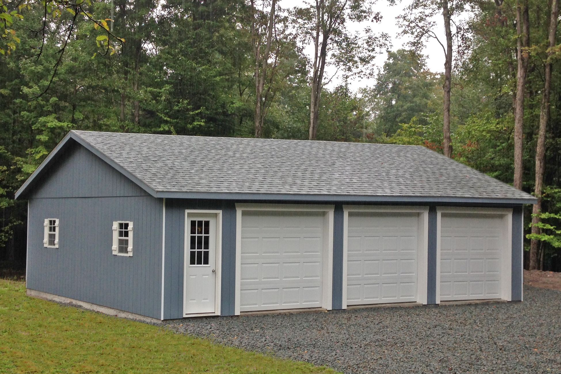 Standard Three Car Garages Garage Prices Barn Garage Plans Garage Builders