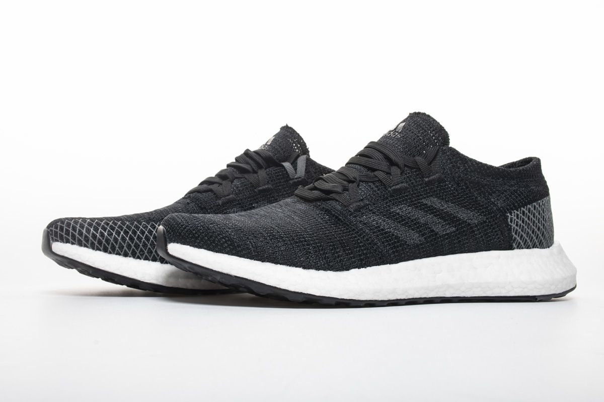 045679bfee9bf8 Adidas Pure Boost GO Core Black Grey Shoes AH2319 4