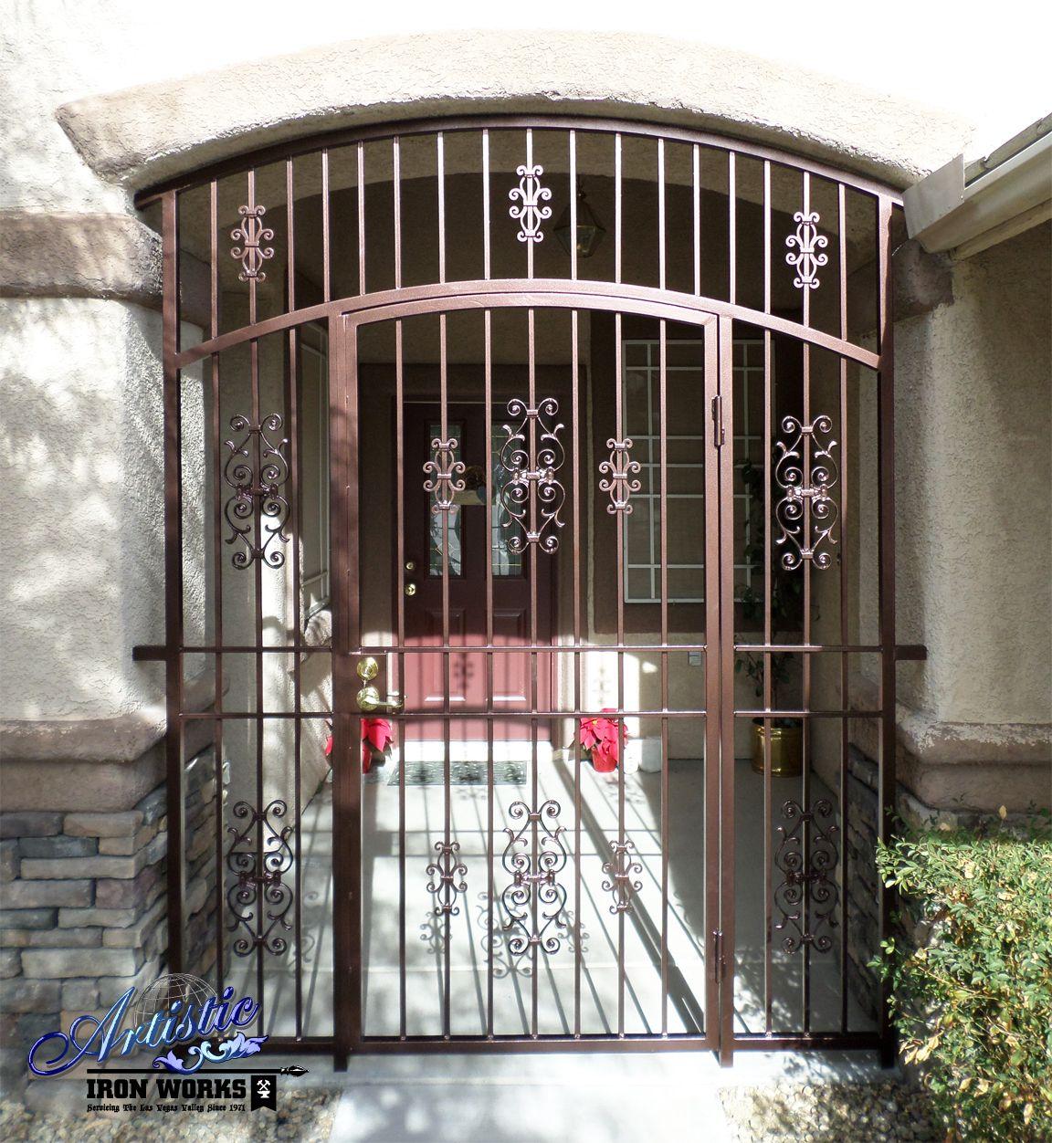 Doors Design: Econoline - Wrought Iron Front Door Security