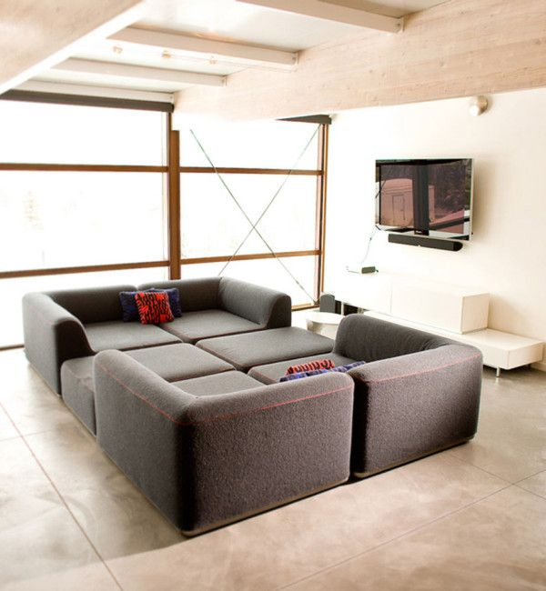 10 Modern Living Rooms With Nap Worthy Sofas Living Room Modern Sofa Design Modern Modular Homes