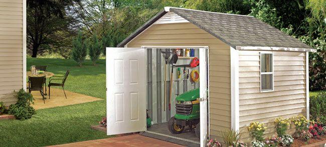 Image result for vinyl siding storage sheds & Image result for vinyl siding storage sheds   DIY   Pinterest