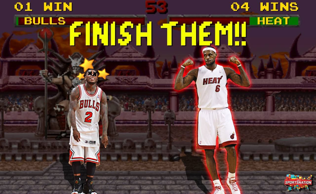 Do you LIKE seeing the Heat finish the Bulls and advance?