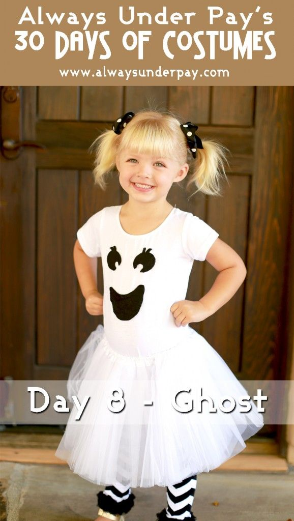 Day 8 - Ghost DIY Halloween Costume Tutorial Cheap Easy Always - easy halloween costume ideas for women
